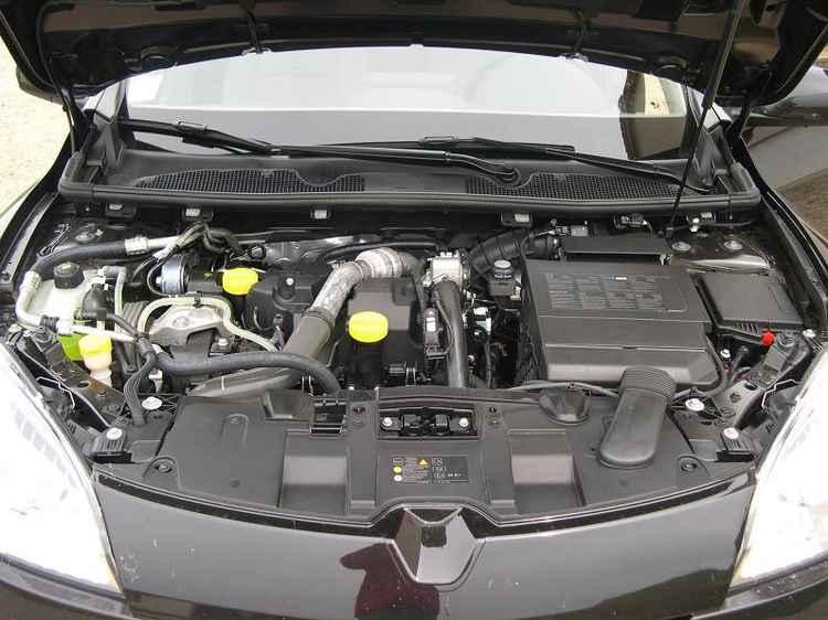 двигатель 1.6 Рено Меган 3