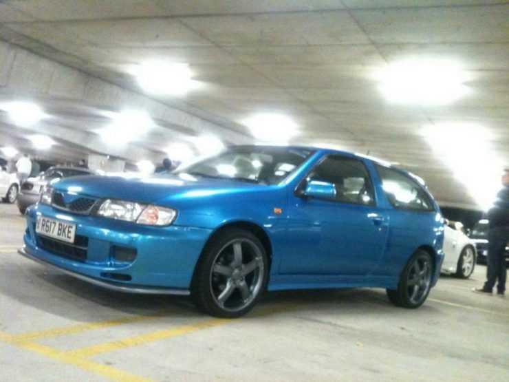 Красивые колеса на Nissan Almera