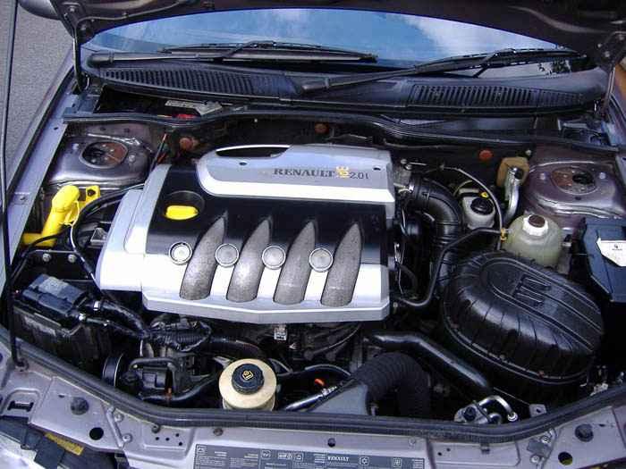 двигатель Мегана