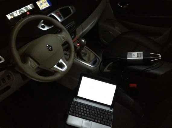самодиагностика авто с выходом на ноутбук