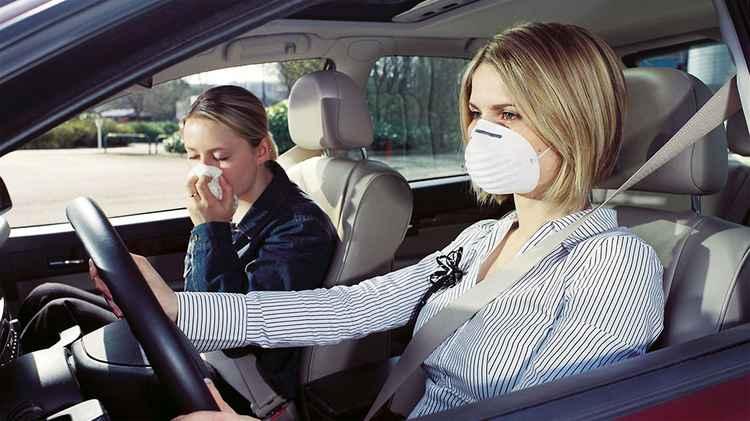 неприятный запах в авто