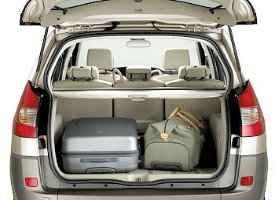 багажник рено сценик с сумками