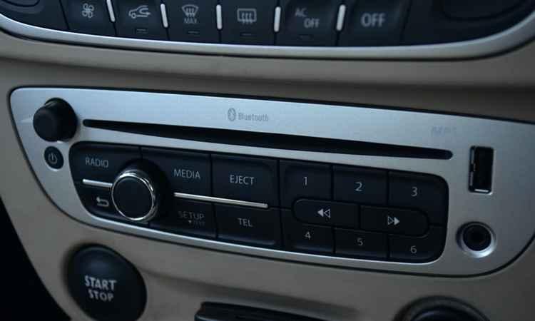 Штатная музыка Renault Fluence