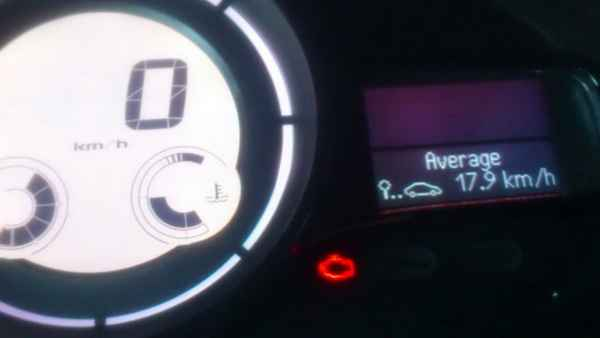 Check engine на Renault Fluence