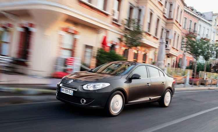 Динамика Renault Fluence