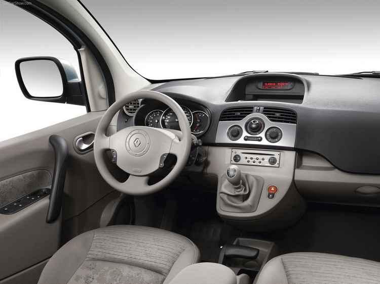 Салон Renault Kangoo