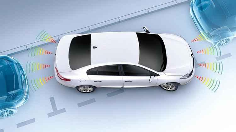 Принцип работы парктроника Renault Fluence