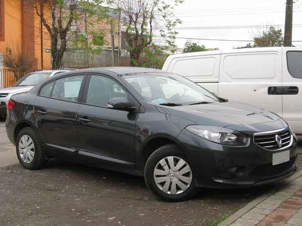 Renault Fluence с колесами стандартного размера