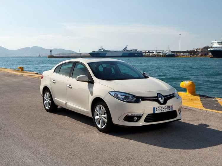 Renault Fluence в кузове седан