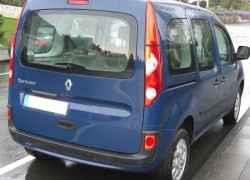 Задняя часть Renault Kangoo II