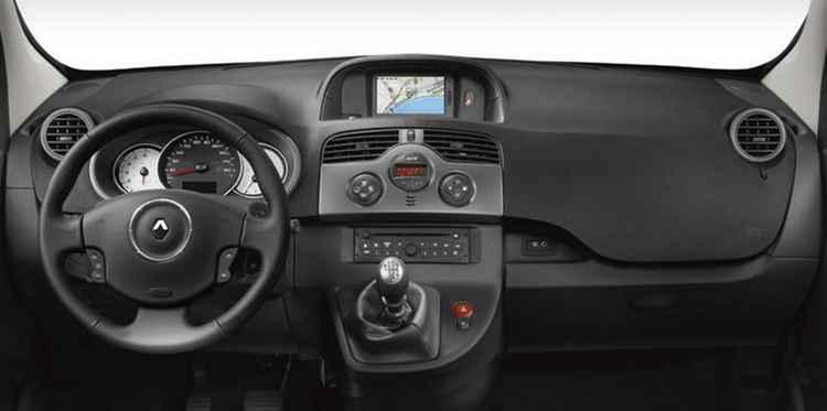 Салон Renault Kangoo II