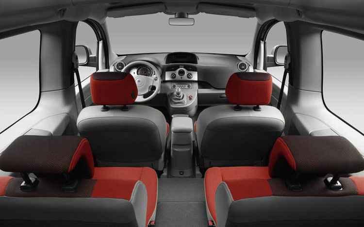 Обзор салона Renault Kangoo