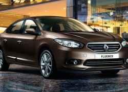 Коричневый Renault Fluence