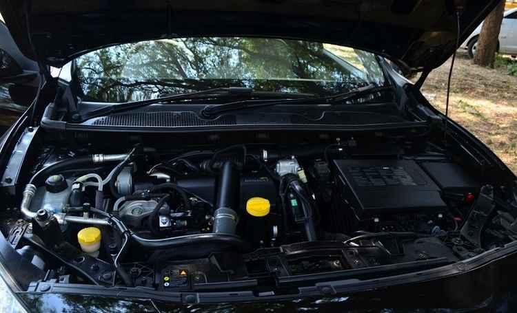 Подкапотное Renault Fluence