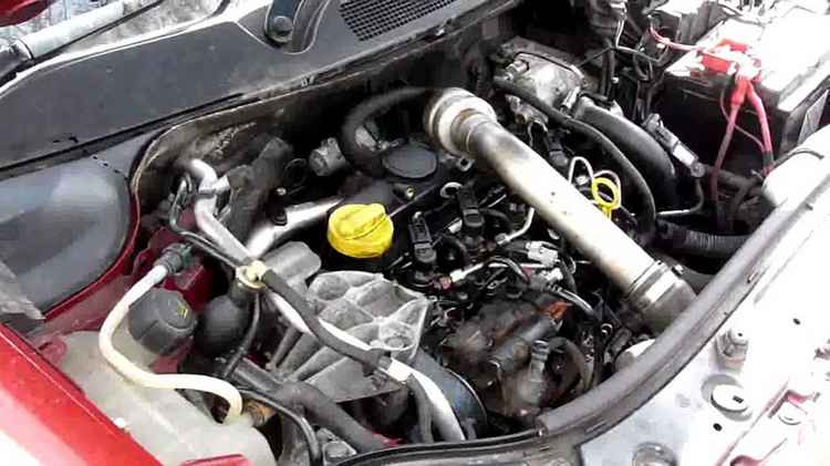 Замена моторного масла Renault Fluence