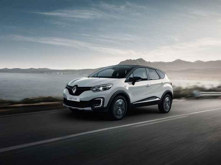 Renault Kaptur на дороге
