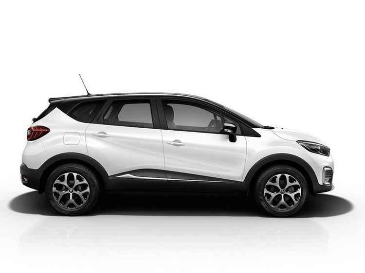 Renault Kaptur вид сбоку