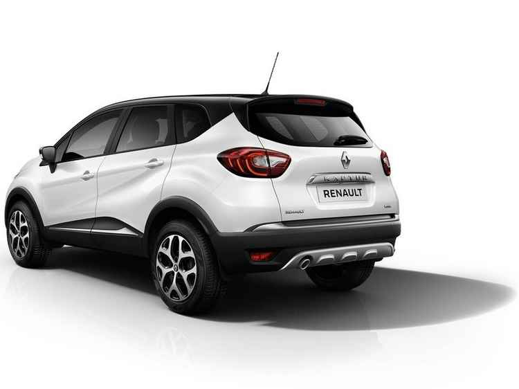 Renault Kaptur вид сзади