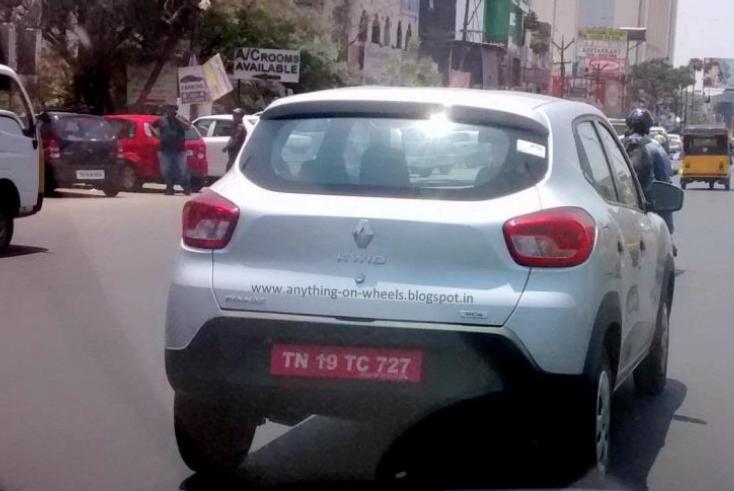 Renault Kwid с литровым двигателем