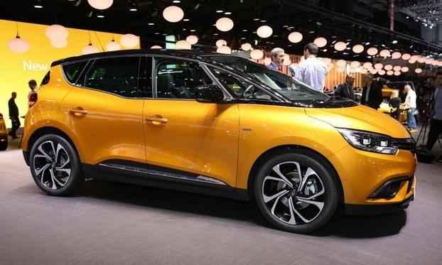 Renault Scenic на основе прототипа R-Space