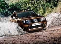 Багажник на рейлинги Renault Duster