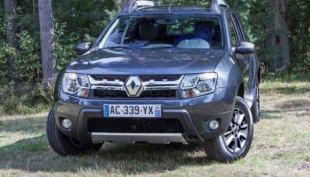 Новые фары на Renault Duster