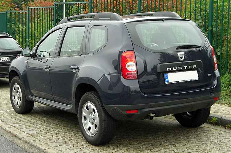 Пороги на Renault Duster