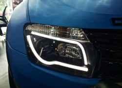Тюнингованная оптика на Renault Duster
