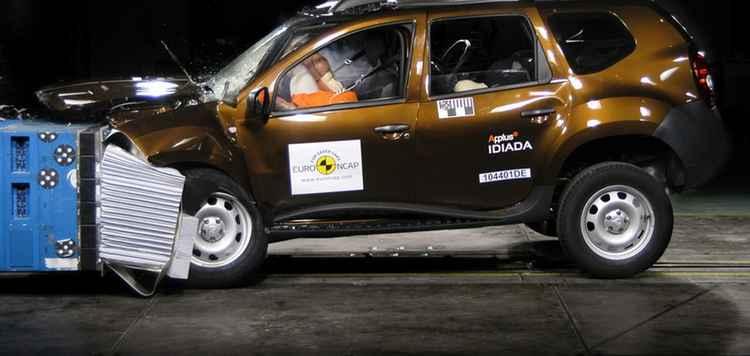 Краш тест Renault Duster EURO NCAP