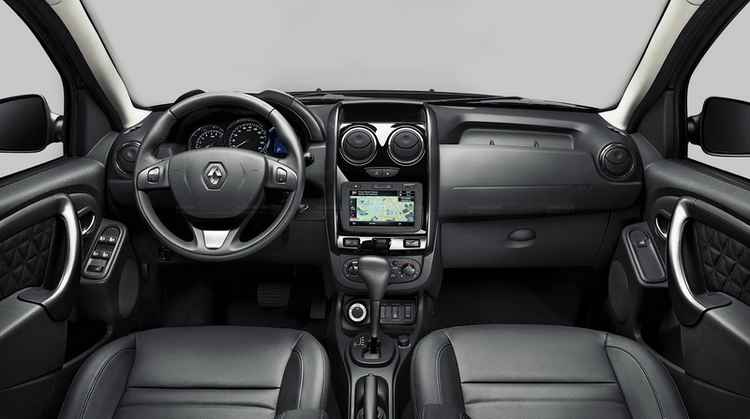 Салон нового Renault Duster