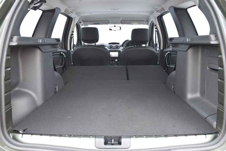 Багажник нового Renault Duster