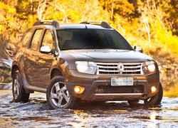 Renault Duster подогрев сидений
