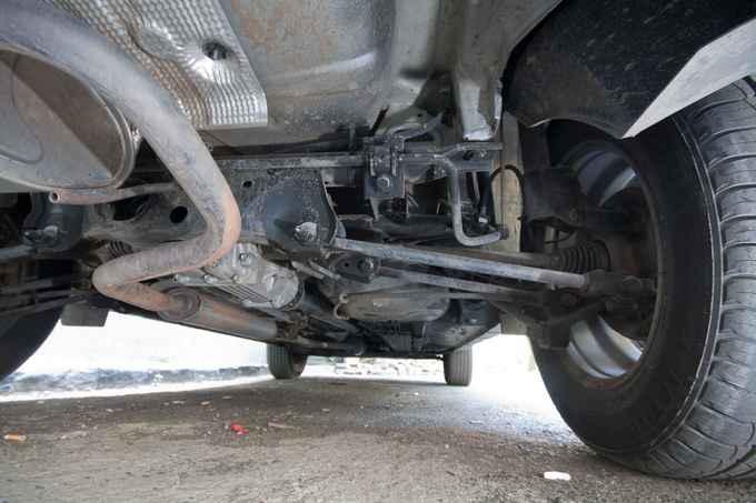 Задняя подвеска Renault Duster