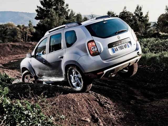 Renault Duster на внедорожье