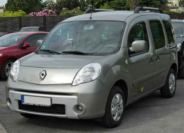 ПТФ на Renault Kangoo