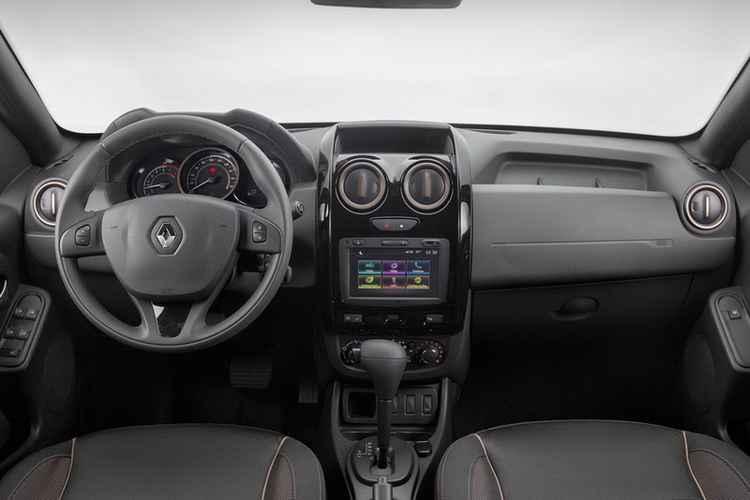 Renault Duster 2 салон