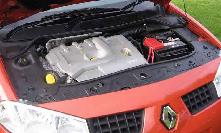 Рено Меган 2 двигатель