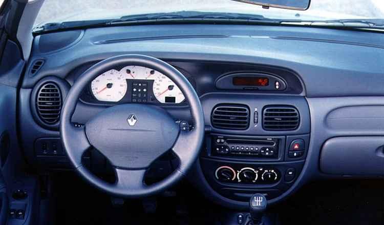 Renault Megane Classic салон