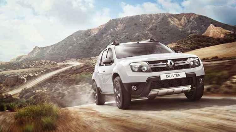 Renault Duster в движении