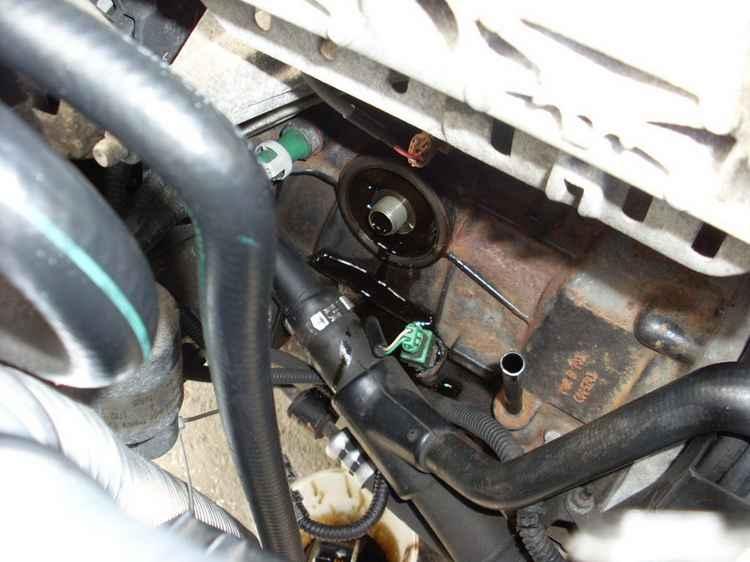 Замена масляного фильтра Renault Megane