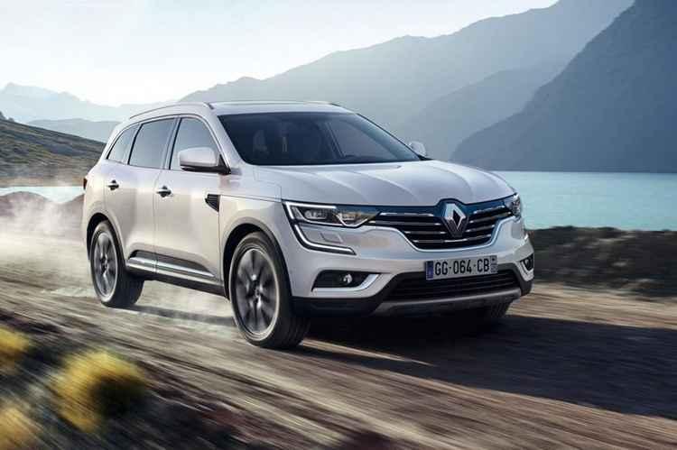 Новый Renault Koleos спереди