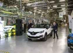 Renault Kaptur на заводе в Москве
