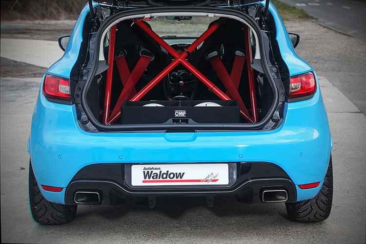 Renault Clio RS каркас безопасности