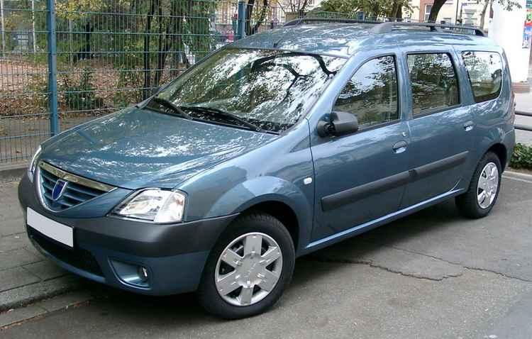 Renault Logan MCV с багажником на крыше