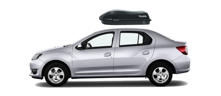 Roof box для Renault Logan