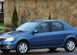 Renault Logan с брызговиками