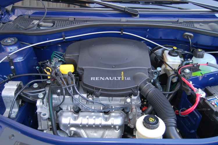 Двигатель 1.6л Рено Логан
