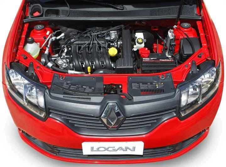 Двигатель нового Renault Logan