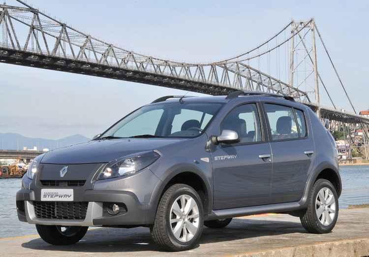 Renault Sandero Stepway в Бразилии