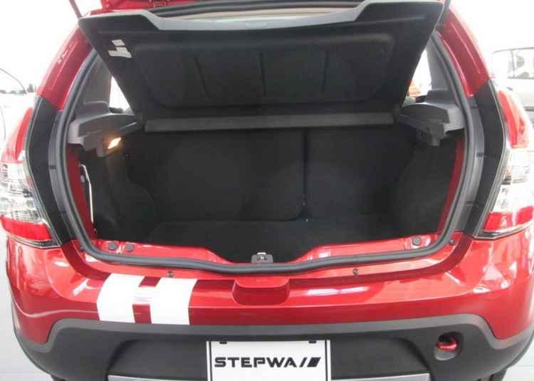 Багажник Renault Sandero Stepway